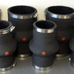 Cuff Ended rubber expansion joints