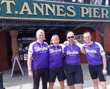 Completed 2018 Quick Steel charity bike ride